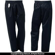7 oz. Black Lightweight Karate Pants